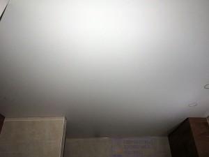 Матовый сатин натяжной потолок