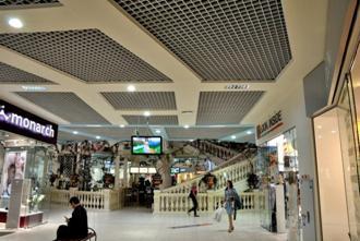 решетчатый потолок Грильято